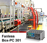 Compact Fanless Box-PC 301 Shows Flexibility towards Function Consolidation