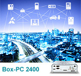 Fanless Box-PC 2400 Series Propels Smart Cities Forward