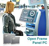 "15"" + 19"" Open Frame Panel-PC"