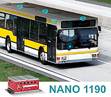 Mobile Networking Video Recorder (NVR) NANO 1190 series constitutes a Ready-to-Use monitoring solution for Vehicles and Railways