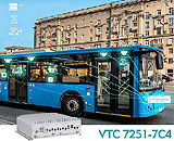 Think smarter with the High-Performance VTC 7251-7C4 Vehicle Telematics Computer